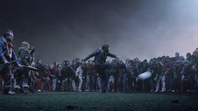 博多華丸、仏ホラー予告でゾンビ対人間のサッカー試合を実況「クーッ!」