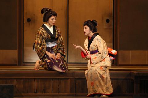 田中麗奈、時代劇舞台初主演の「きりきり舞い」開幕に感涙と新たな決意