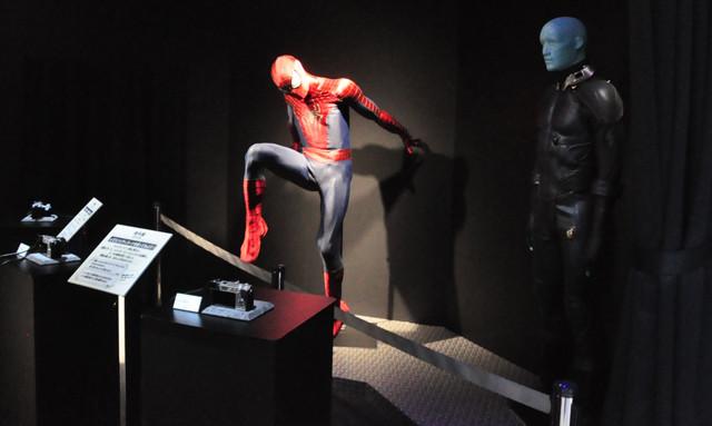 中村獅童が除幕!銀座ソニービル壁面にスパイダーマンが出現! - 画像3