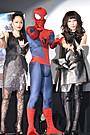 中島美嘉×加藤ミリヤ「アメイジング・スパイダーマン2」のテーマソングを生熱唱!