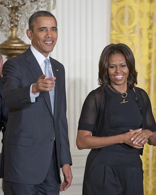 オバマ大統領夫妻、デンゼル・ワシントンのブロードウェイ舞台を観劇