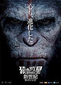 シーザーの表情にも注目 「猿の惑星:新世紀」ポスタービジュアル「猿の惑星」