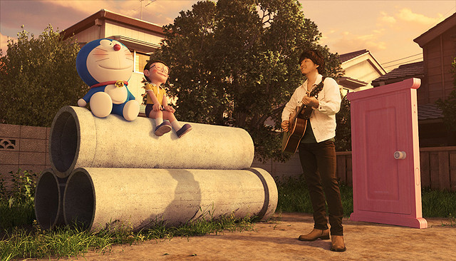 秦基博の新曲バラード、3DCGアニメ「STAND BY ME ドラえもん」主題歌に