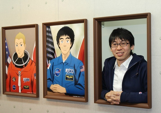 「宇宙兄弟」初の大規模作品展、原画200点展示に原作者・小山宙哉氏「はずかしい」
