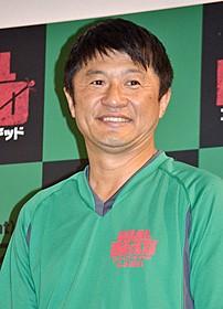 フットサル対決に参加した武田修宏「ゴール・オブ・ザ・デッド」