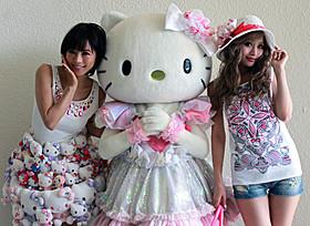 釈由美子とデザイナーの武藤静香