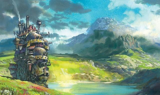 米誌が「宮崎駿の創造物ベスト16」を特集 (画像は「ハウルの動く城」)