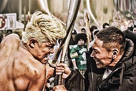 日本刀のメラ(鈴木亮平)に バットで応じる海(YOUNG DAIS) 「TOKYO TRIBE」特報映像がお披露目「TOKYO TRIBE」