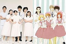 (左から)堀井新太、伊藤梨沙子、未来穂香、 古川雄輝、鈴木身来、川上ジュリア