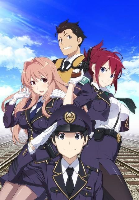 テレビアニメ「RAIL WARS!」主題歌は茅原実里&ZAQに決定
