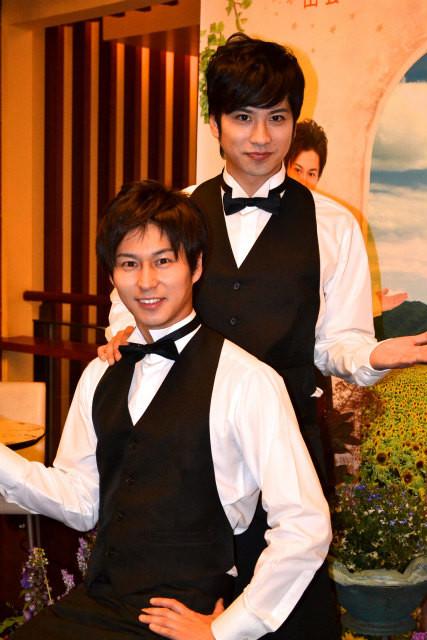 三上真史&滝口幸広、カフェ「MeeT CAFE」でおもてなし宣言