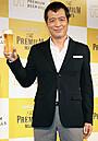 永ちゃん、CM出演9年目のプレミアム・モルツに舌鼓「やり続けることが一番大事」
