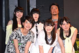 舞台挨拶に立った「乃木坂46」の中田花奈ら「デスブログ 劇場版」