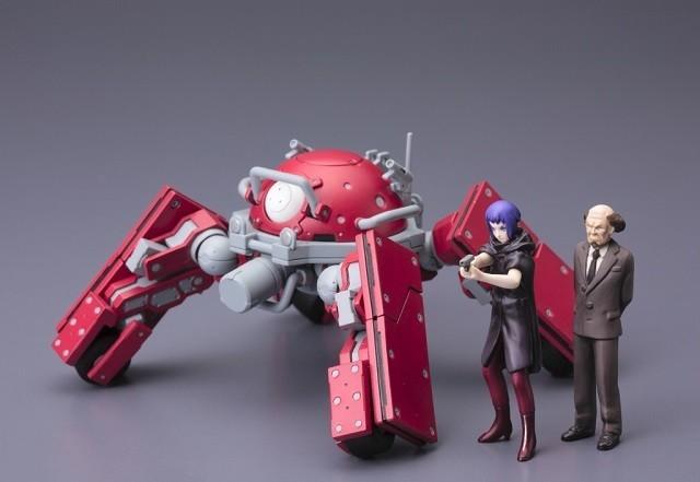 「攻殻機動隊ARISE」シリーズのロジコマ、コトブキヤから初プラモデル化!