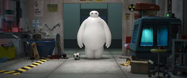 ディズニーアニメ最新作「ベイマックス」、白くて丸っこい主人公の正体は…?