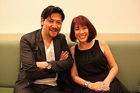 ショートショート フィルムフェスティバル &アジア2014を熱烈PRする別所哲也とLiLiCo「動物の狩り方」