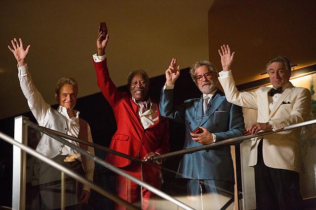 初共演を果たした4人のオスカー俳優が「ラスト・ベガス」を語る