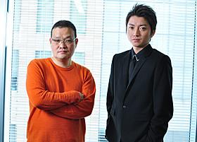 中田秀夫監督と藤原竜也「男」