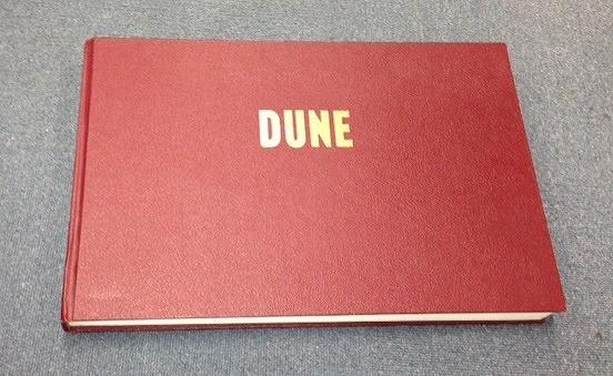 ホドロフスキー版「DUNE」 メビウス原画の幻のストーリーボード集をお披露目