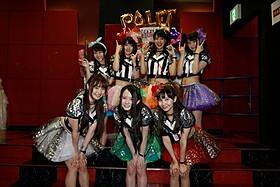 7人体制となったアイドルユニット「palet」
