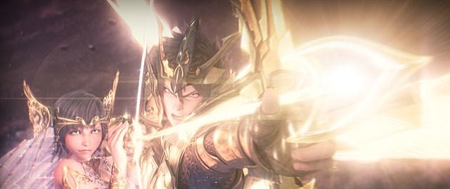 聖闘士の迫力バトルにYOSHIKIのバラードが情感あふれる「聖闘士星矢」予告第2弾