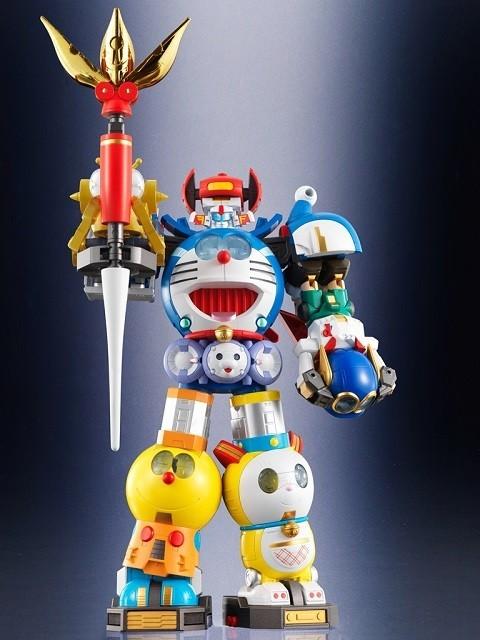 驚異の超合金ロボ「超合体!SFロボット 藤子・F・不二雄キャラクターズ」発売決定