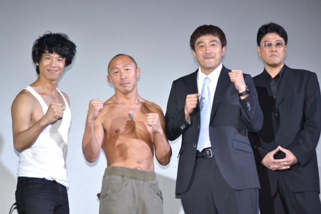 元キックボクサーの俳優・武田幸三、庄司智春にハイキック!