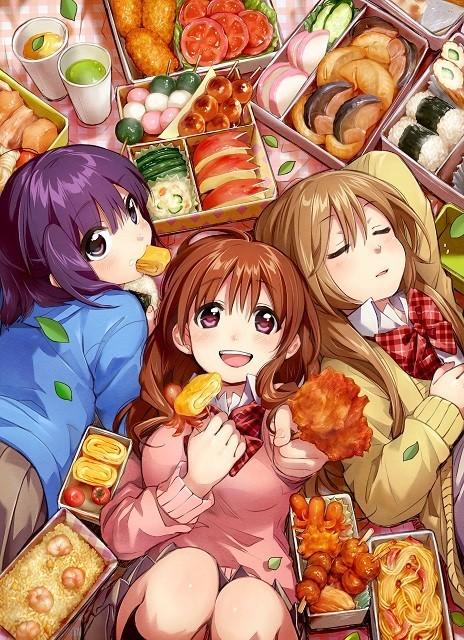 お食事4コマ漫画「幸腹グラフィティ」がアニメ化決定