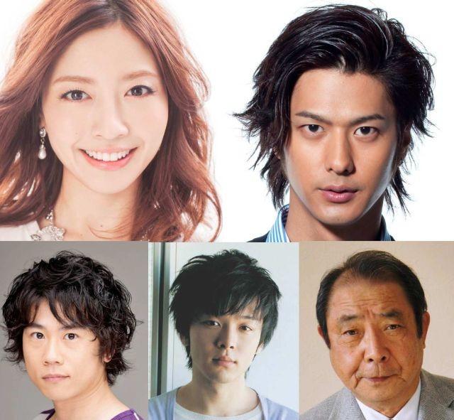 片瀬那奈&速水もこみち、能年玲奈主演「海月姫」に参戦!新キャストずらり