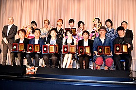 第23回日本映画プロフェッショナル大賞授賞式の様子「ぼっちゃん」