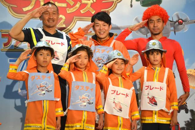 元サッカー日本代表の秋田豊&ペナルティ、子どもたちにチームワークの大切さを熱弁