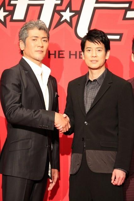 唐沢寿明、スーツアクター時代を懐かしむ 「イン・ザ・ヒーロー」主題歌は吉川晃司