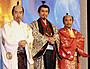岡田官兵衛、信長、秀吉、家康の3英傑そろい踏みに決意新た
