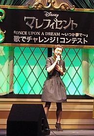 主題歌を熱唱した大竹しのぶ「マレフィセント」