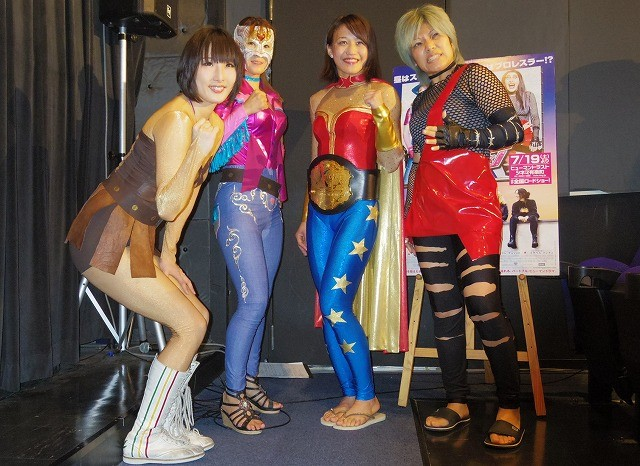 現役女子レスラーが「ママはレスリング・クイーン」を応援!映画館で大乱闘も!?