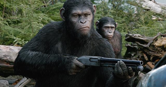 【全米映画ランキング】「猿の惑星:新世紀(ライジング)」が大ヒットスタート