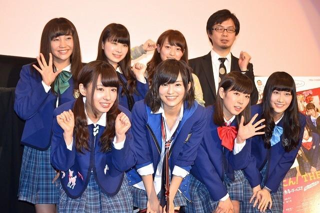 NMB48、主演映画の見どころは「お風呂上がりのちゃぷちゃぷシーン」