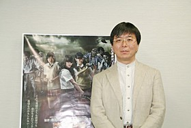 メガホンをとった鶴田法男監督「ゾンビ」