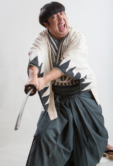 バナナマン日村、ゾンビ時代劇「新選組オブ・ザ・デッド」で長編映画初主演!