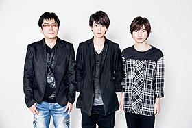 (左から)大友啓史監督、佐藤健、神木隆之介「るろうに剣心」