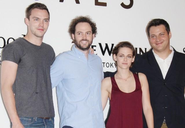 クリステン・スチュワート&ニコラス・ホルトが来日 新作SF「イコールズ」を日本で撮影