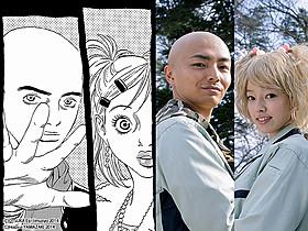 「黒鷺死体宅配便」の唐津(左)と槙野(右)が 「劇場版 零 ゼロ」に登場「劇場版 零 ゼロ」