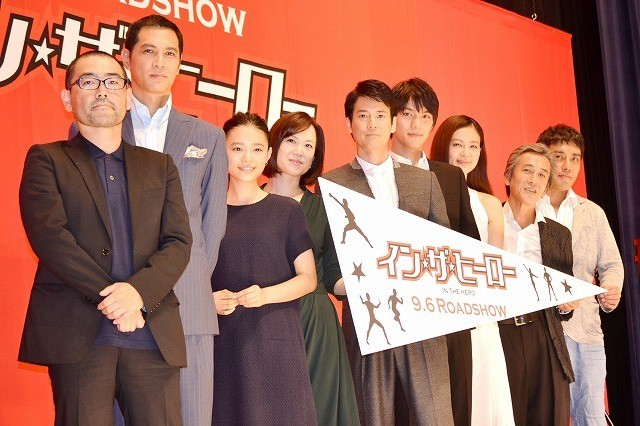 「イン・ザ・ヒーロー」唐沢寿明、ファンに熱烈メッセージ!福士蒼汰、寺島進らも胸を張る