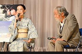 河瀬直美監督と常田富士男「2つ目の窓」