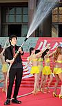 小栗旬「ルパン三世」のヒット願い大放水 北村龍平監督は下ネタでツッコミ