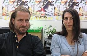 ルーシァン・キャスティーヌ=テイラー(左)とベレナ・パラベル「リヴァイアサン」