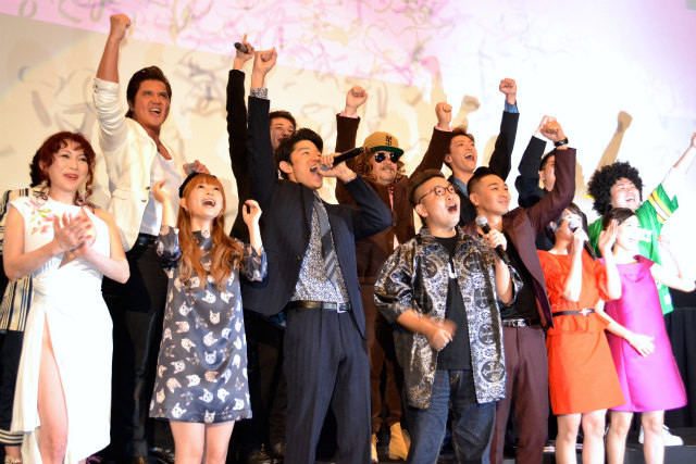 鈴木亮平&YOUNG DAIS&清野菜名、舞台挨拶でラップを生披露!
