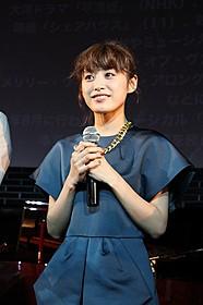 トークイベントに出席した高橋愛「カラアゲ★USA」
