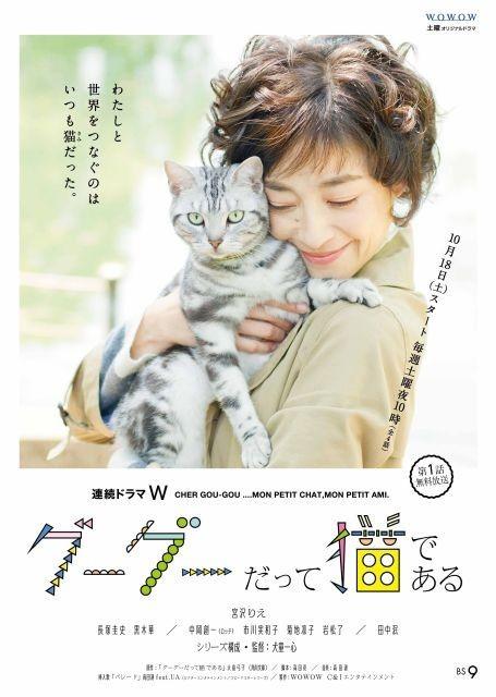 ドラマ版「グーグーだって猫である」挿入歌は高田漣&UAの「パレード」