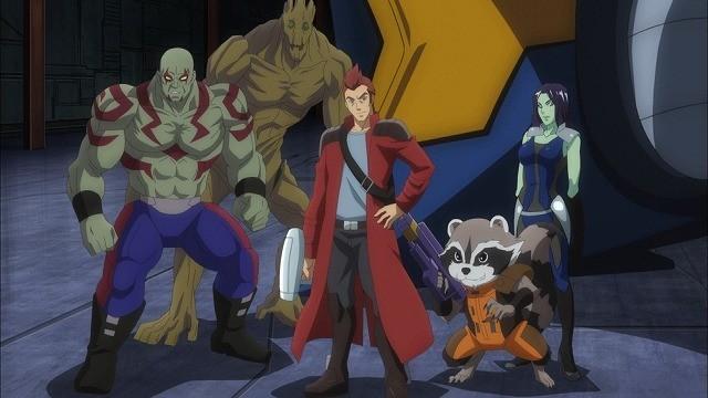 「ガーディアンズ・オブ・ギャラクシー」がTVアニメでアベンジャーズと共闘!